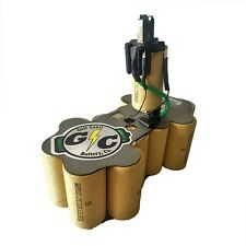 DeWALT 18 Volt DC9096 Battery Replacement Internals Tenergy 2.2Ah NiCd cells