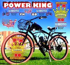 "66cc/80cc 2-STROKE MOTORIZED BIKE KIT AND 26"" FANCY CRUISER BICYCLE DIY"