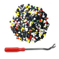 500Pcs*Push Pin Mixed Door Trim Panel Clips Fastener Bumper Rivet Retainer+Tool