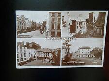 Haverfordwest Pembrokeshire Wales ~ Vintage Multi-View Postcard Valentine & Sons