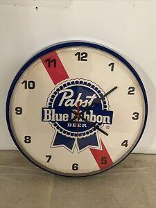 Pabst Blue Ribbon Beer Clock