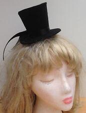 Noir style undertaker, mini chapeau haut