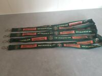 Branded JAGERMEISTER lanyard SET OF 4 Brand new