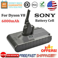 21.6V 6.0Ah Replace Battery For Dyson V8 Animal Absolute Handheld Vacuum Cleaner