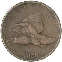 1857 Flying Eagle Cent Fine Penny FN See Pics G686