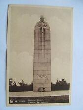 St. Julien, Belgium, Canadian War Memorial, Monument Canadien, NELS postcard