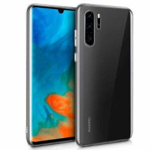 Funda de Silicona 100% Transparente para Huawei P30 Lite, P30 Pro, P30. Calidad