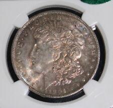 1904 O MS 65 CAC Toned NGC Morgan Silver Dollar
