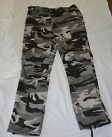 New black and white combat style pants size xx-large (#bte74)
