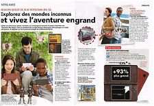 Publicité Advertising 2010 (2 pages) La Console Nintendo DS XL
