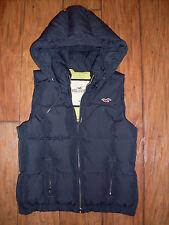 Women's Hollister Outerwear Vest W/Hood Size M