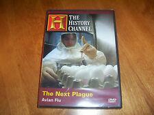 THE NEXT PLAGUE Avian Flu Deadly Virus Epidemic Disease History Channel DVD NEW!