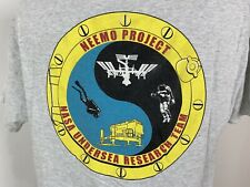 New listing Vintage 90s NEEMO Project NASA Undersea Research Team T-Shirt L Scuba Astronaut