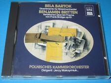 Maksymiuk, Polnisches Kammerorchester / Bartok, Britten - CD