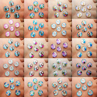 HOT 14mm Photo Image Frozen Round Glass Cabochon Dome Flat Back Cover many PICK