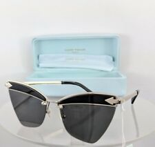 a57ed3a7478d Brand New Authentic Karen Walker Sunglasses SADIE Black Gold 59mm Frame