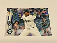 2020 Topps Baseball UK Edition Rookie - Justin Dunn RC - Seattle Mariners