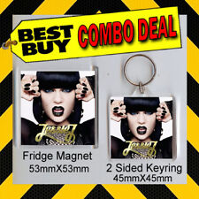 JESSIE J -WHO YOU ARE KEYRING & FRIDGE MAGNET - CD COVER PRODUCT