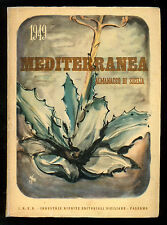 MEDITERRANEA ALMANACCO DI SICILIA 1949 IRES LOCALE