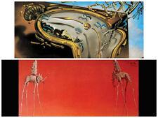 Salvador Dali Les Elephants Clock Explosion 2 Individual Posters Surrealism New