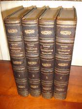 HISTOIRE DE LA LITTÉRATURE FRANÇAISE  Par D. Nisard 4/4 1854
