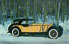 "1928 Mercedes Benz "" S "" Sport Touring -- Transportation Automobile Car Postcard"