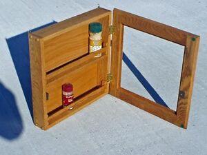 Custom Made - Oak Spice Hide Cabinet Kit