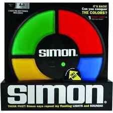 Electronic SIMON Large Classic FULL SIZE memory light sound says game BOX Basic