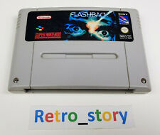 Super Nintendo SNES - Flashback - PAL - FAH