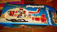 Playmobil 3789 Leere OVP empty Box für Rettungshubschrauber SOS Set 80erJahre