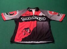 Louis Garneau Cycling Jersey Bike Shirt Full Zip Yellow Black Men's M Alabama