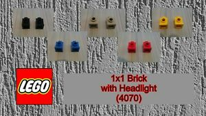 LEGO - Used Condition - 1x1 Brick with Headlight (4070) x 2