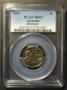 Australia, 1991 $2 PCGS MS67