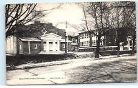 *Milltown Public School Milltown NJ New Jersey old Vintage Postcard B67