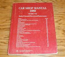 Original 1989 Lincoln Mark VII Shop Service Manual 89