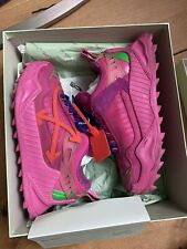 Authentic Off-White Odsy-1000 Pink Sneakers Us8 39