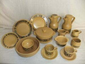 c4 Pottery Kiln Craft Staffordshire Potteries - Bacchus - dishwasher safe - 1C1F