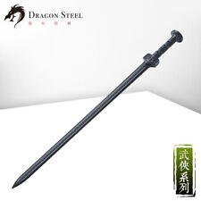 Dragon Steel Han sword Ch-185 Black Martial Arts Plastic Training weapon