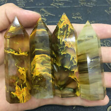 Rare Pretty Yellow Quartz Crystal Single Terminated Wand Healing Specimen