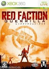 Used Xbox 360 Red Faction: Guerrilla MICROSOFT JAPAN JP JAPANESE JAPONAIS IMPORT