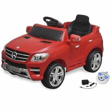 vidaXL Voiture enfant électrique 6 V avec télécommande Mercedes Benz ML350 rouge