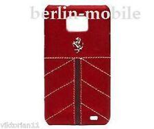 Ferrari Horse Pferd Tasche Case Hülle Rot Samsung Galaxy S2 GT I9100 plus I9105P