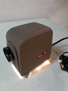 Vintage Minolta Mini 16 Slide Projector w/ case - Works - Very Clean