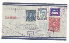1953 San Salvador, El Salvador Registered Aitmail to Germany