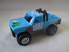 1981 Matchbox 1:67 Mountain Man 4 x 4 Cibie Mini Pickup Truck #57 HK (Nice!)