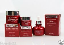Secret Key Syn-Ake Anti-Wrinkle Whitening Cream + Serum + Eye Cream Set