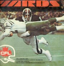 The Official 1977 CFL Yearbook YARDS Canadian Football Tons of Color Photos