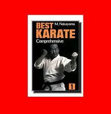 MARTIAL ARTS BOOK:BEST KARATE VOL.1:KATA,KUMITE,FORM,TECHNIQUE,POWER, STANCES+MO