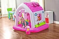 Hello Kitty Inflatable Soft Fun Cottage Play House Kids Children Indoor Activity