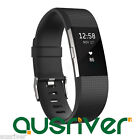 Fitbit Charge2 Smart Activity Tracker Fitness Sport Watch Wristband Black Small